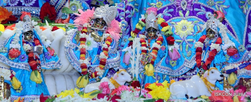 ISKCON Juhu Sringar Deity Darshan 17 Aug 2016 (8)