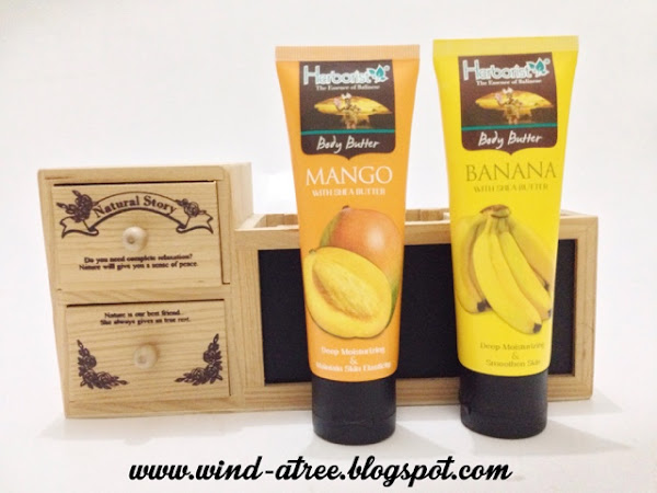 [Review] Herborist Body Butter in Mango and Banana