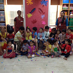 Holi Celebration at Witty World, BN by Nursery Section A & B [ 2015-16 ]