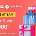 (Answers Added) Amazon Quiz : Answer and win Rs.50000 Pay Balance