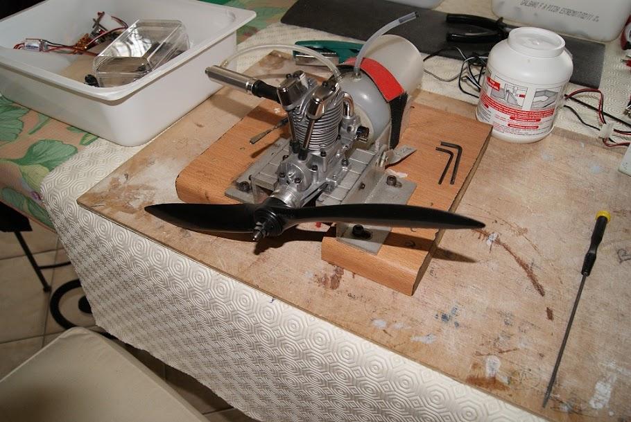 construction d un fw190 3 me partie le coin maquette. Black Bedroom Furniture Sets. Home Design Ideas