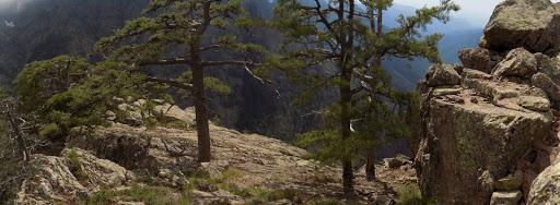Aux alentours du sommet du Monte Saltare
