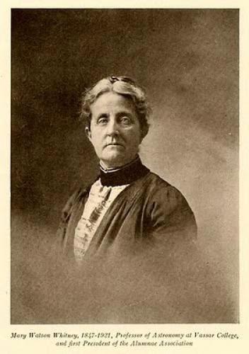 Mary Watson Whitney Vassar Astronomer