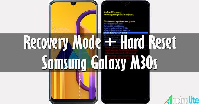 Recovery Mode + Hard Reset Samsung Galaxy M30s