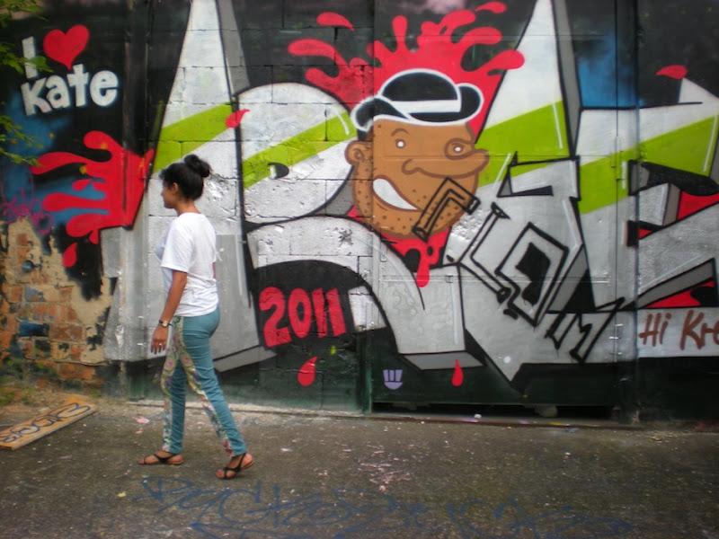 TFB Graffiti Steph walk