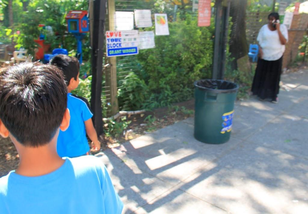 Arrival at our destination: Chenchita's Garden