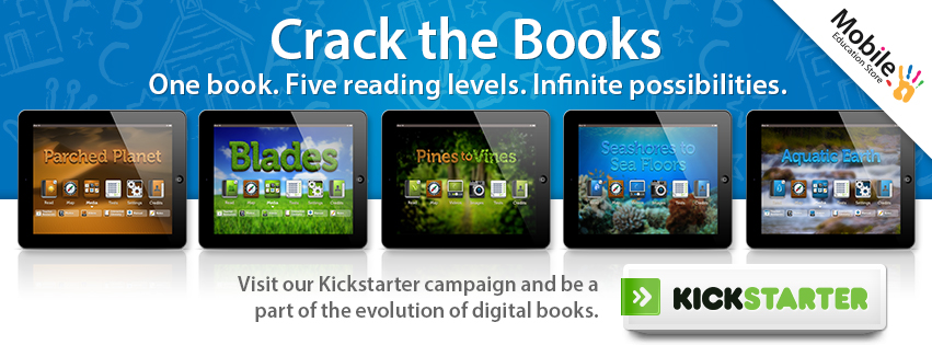 Crack the Books Kickstarter