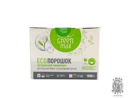 ЕСОпорошок натуральний концентрат для прання білих та кольорових речей Eco max