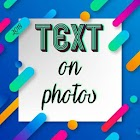 text on pictures - 500 font icon