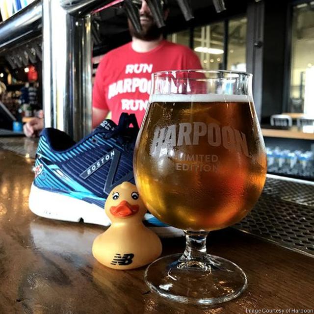 Harpoon Celebrating The 2018 Boston Marathon With Golden Ducky