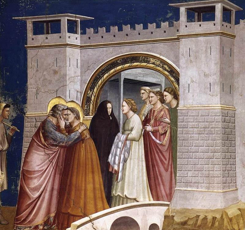 06 Incontro di Anna e Gioacchino alla Porta d Oro