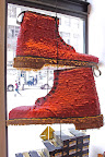 How fun are these Doc Martens piñatas they did for the opening ceremony??
