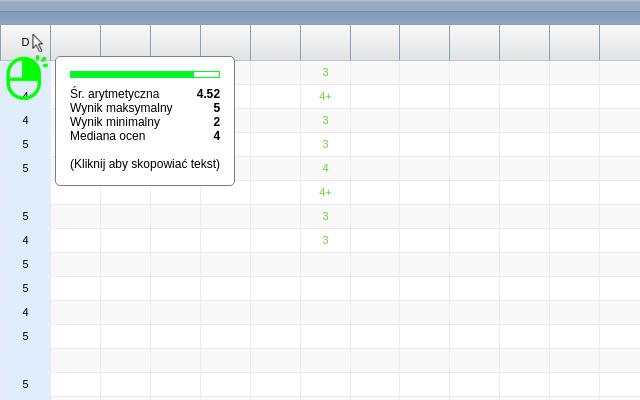 Statystyka Ocen 1-click