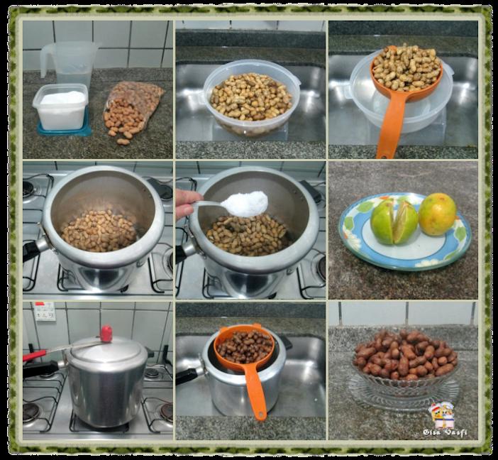 Amendoim cozido x amendoim torrado 3