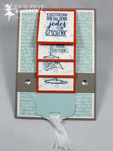 Stampin' Up! - In{k}spire_me #232, color challenge, waterfall card, male birthday card, Prosit, Making Spirits Bright, Wimpeleien, Zum großen Tag, Dein Tag, Perfect Pennants, Big Day, Another Great Year, Scallop Tag Topper Punch, Gorgeous Grunge
