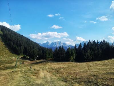 Blick in die Julischen Alpen (Slowenien)