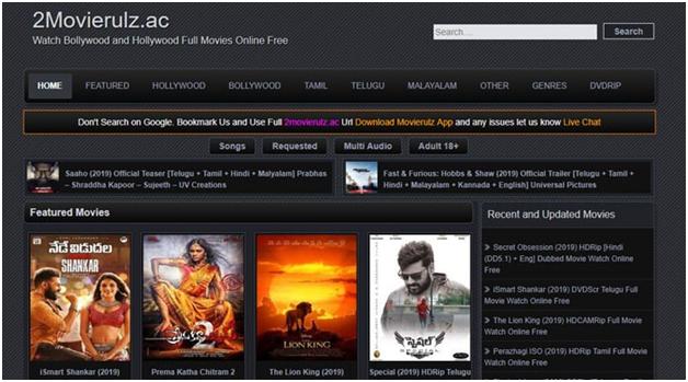 MovieRulz 2021 – Telugu Movies Download Website, Hindi Bollywood Movies