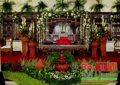 wedding decoration / dekorasi pengantin tradisionalcilacap