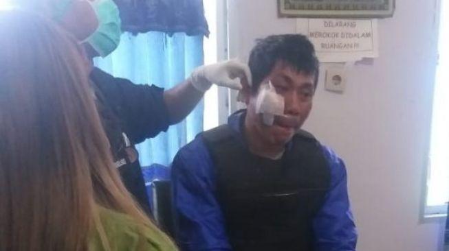 Detik-detik Tukang Ojek Ditembak Usai Turunkan Penumpang