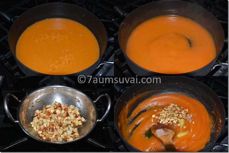 Corn flour halwa /Bombay halwa