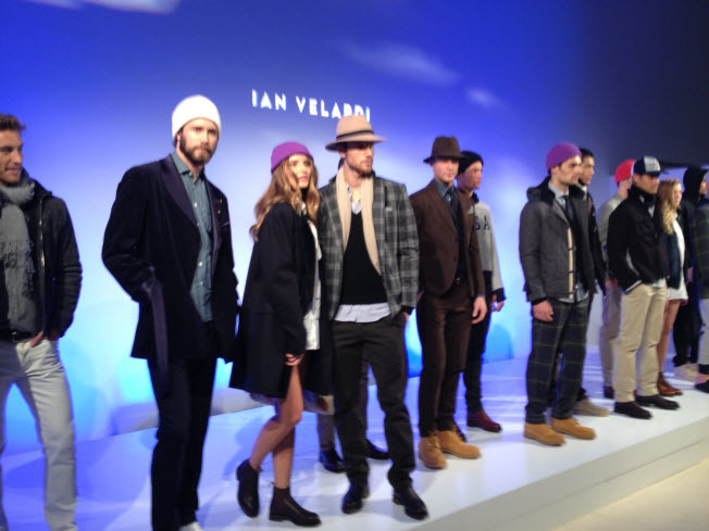 Ian Velardi at Mercedes Benz Fashion Week