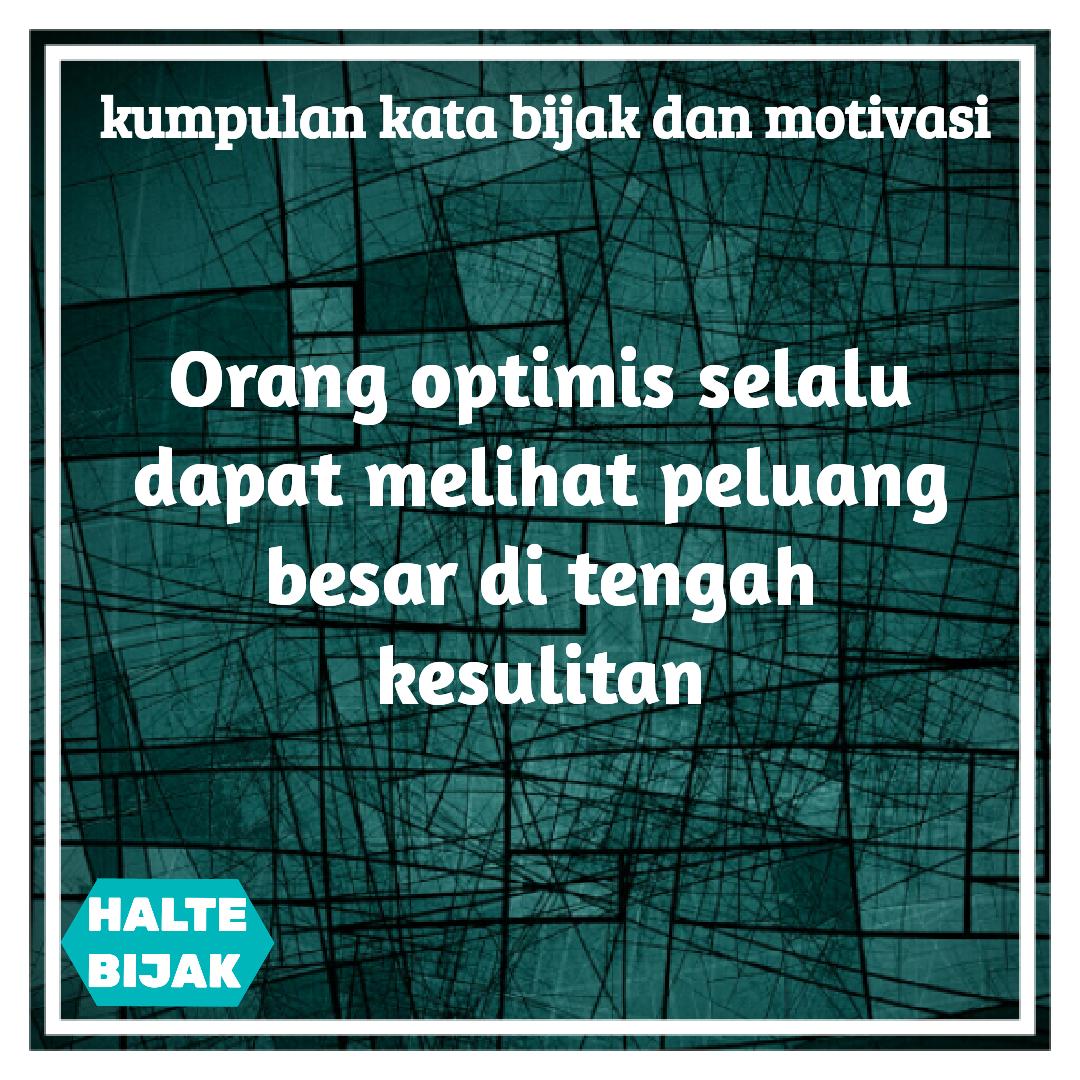 Kata Mutiara Optimis Cikimm Com