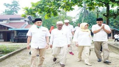 Ketua DPD Gerindra Kalbar Bersama Anggota DPRD Provinsi dan DPRD KKR Silaturahmi di Dua Ponpes