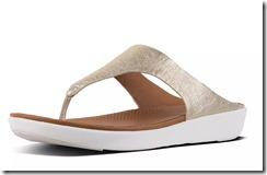 Fitflop Metallic Thong Sandals