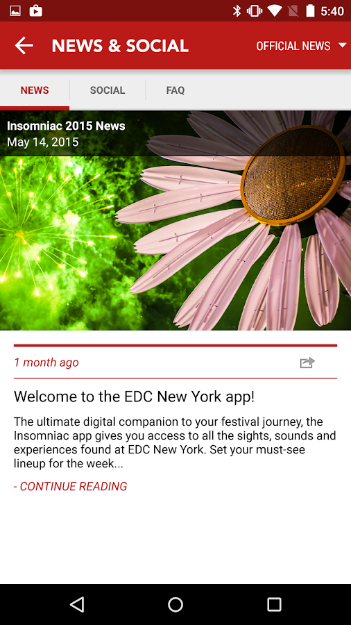 Insomniac: EDCNY 2015 - screenshot