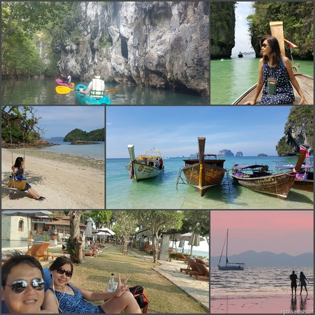 Our 8D/7N itinerary in Krabi