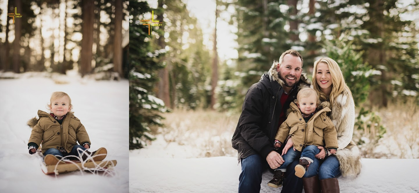 Tahoe Portraits in the Snow