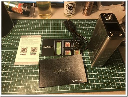 IMG 2300 thumb - 【メカメカテクニカル】SMOK X CUBE Ultra Modかっこいい~!パフボタンも独特でバイブレーションがいちいち鳴るのも新鮮!レビューするのもワクワクなメカメカテクニカル!【VAPE MOD】