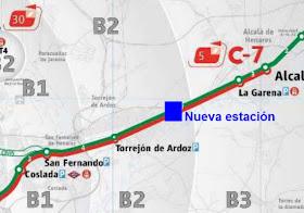 Una nueva estación de Cercanías junto al Hospital de Torrejón