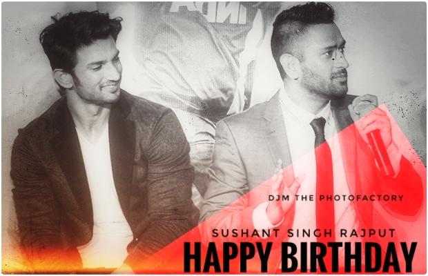 Happy Birthday Sushant Singh Rajput wishes images - Birthday celebration