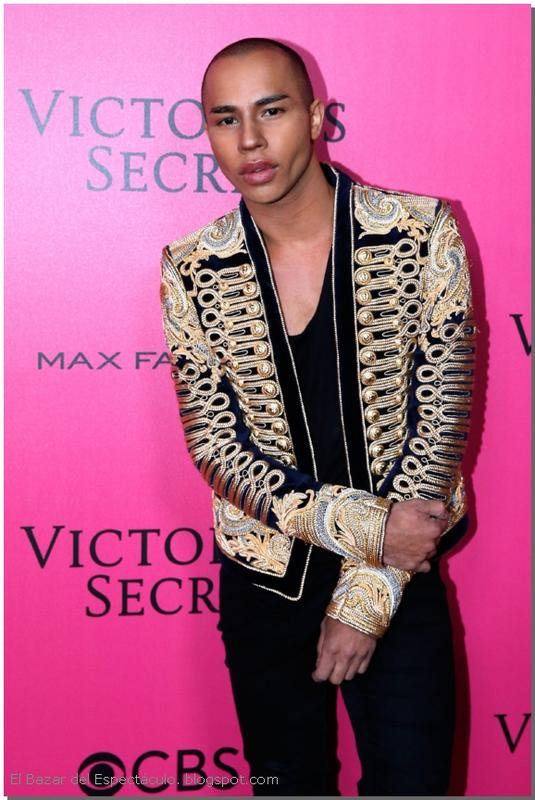 Olivier Rousteing Pink Carpet 2016 VS Fashion Show.jpg