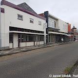 Begin sloop voormalig kapsalon van Delden Oude Pekela - Foto's Jeannet Stotefalk
