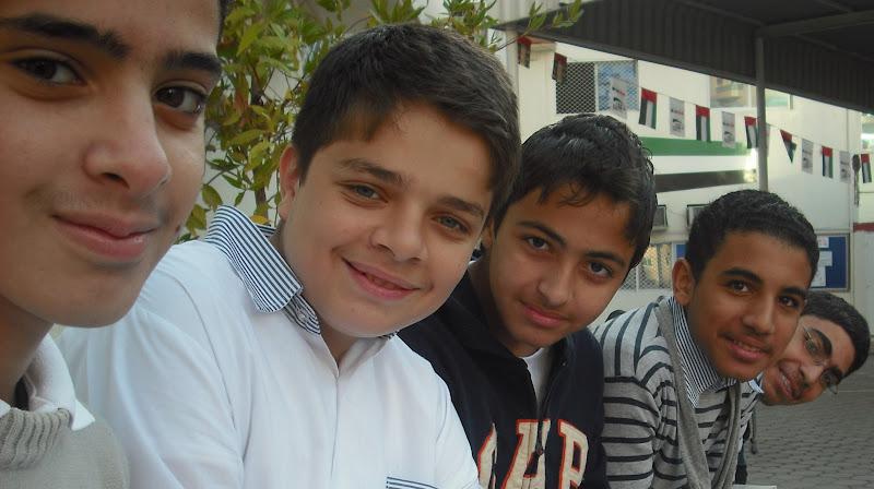 From left to right: Mohammed Saleh > AbdulNoor > Ahmad Ammar > Kareem Nagi > Yousef Tarek.