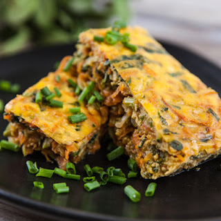 Zucchini and Sweet Potato Bake Recipe