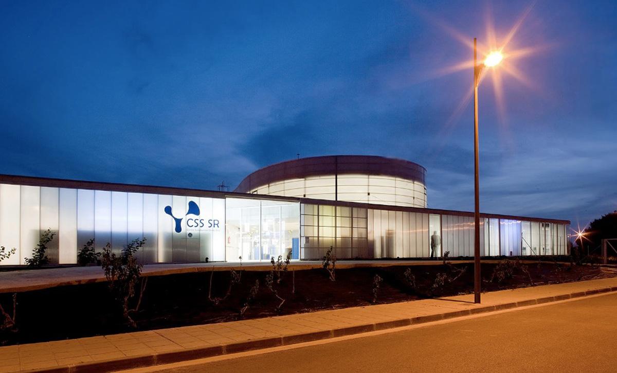 Santa Rita Geriatric Center design by Manuel Ocaña