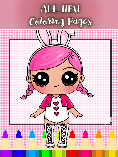 LOL Surprise DOLL Coloring Book and Game 1 screenshots 8