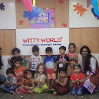 Holi Celebration at Witty World, BN, by Playgroup Section A & B [ 2015-16 ]