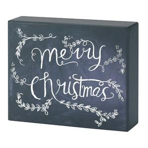 Chalkboard Canvas Merry Christmas