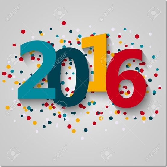 Happy 2016 new year
