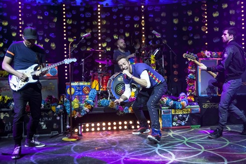 The Jonathan Ross show Coldplay Simon Pegg33