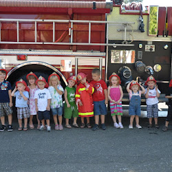 Lil Scholars University Junior Fireman Training