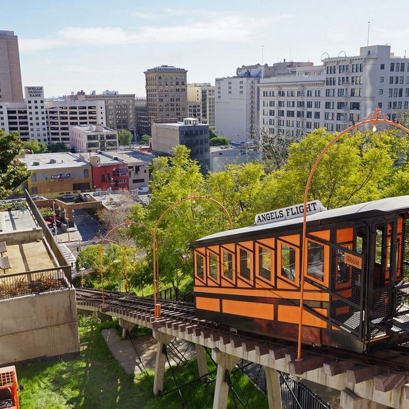 Angels Flight: The World's Shortest Railway