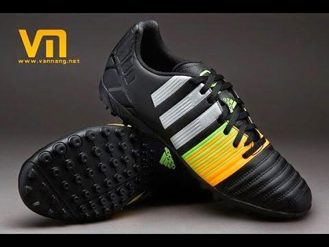 bán buôn giày bóng đá Giày bóng đá Nitrocharge 3.0 TF Đen Xanh Vàng