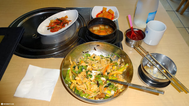 traditional Bibimbap dinner in Korea in Seoul, Seoul Special City, South Korea