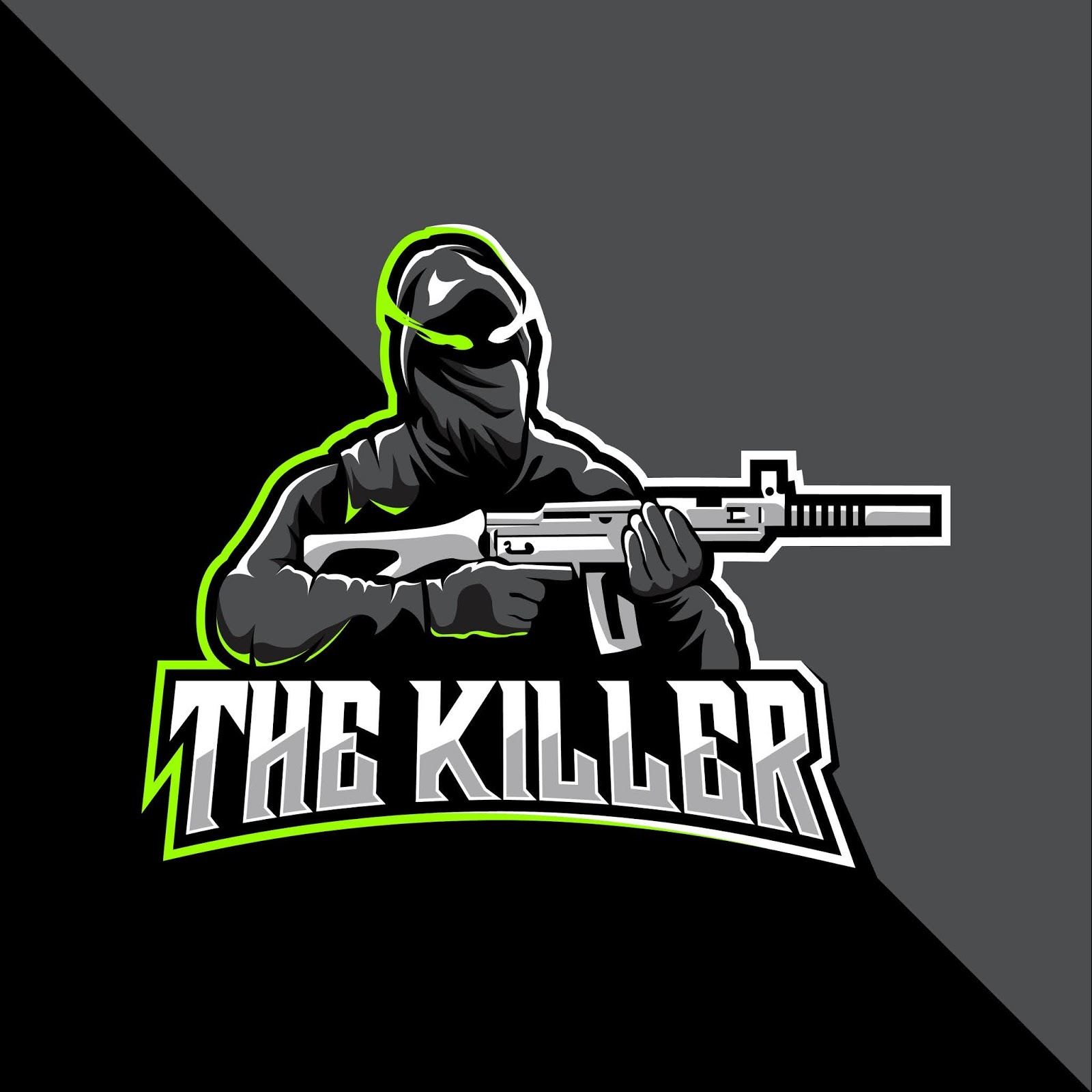 Killer Esport Logo Free Download Vector CDR, AI, EPS and PNG Formats