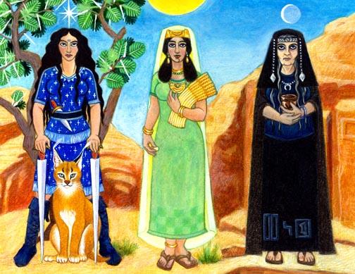 Al Lat, Gods And Goddesses 7